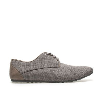 I might just have to break down and buy these shoes because they're super versatile. CANVAS SPORT BLUCHER