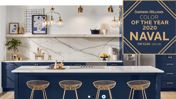 SherwinWilliams' 2020 Color Choice Harks Back to the '20s