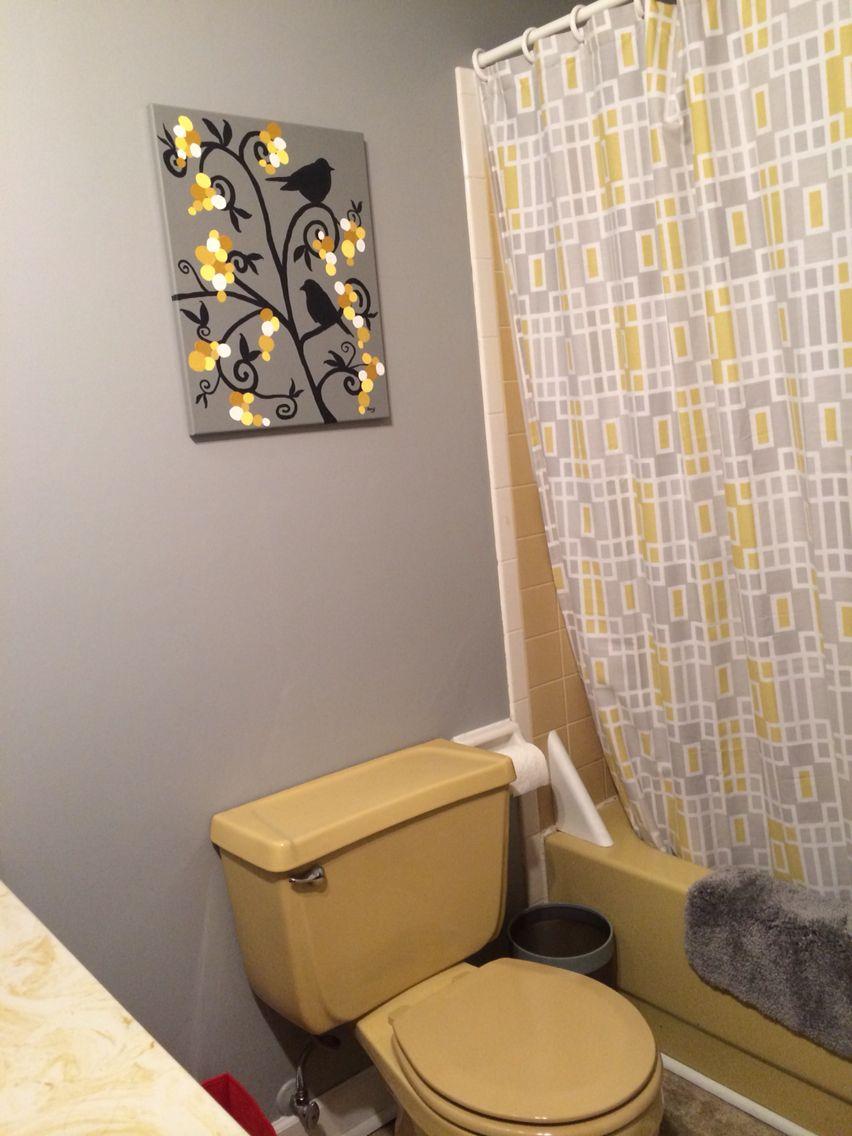Still A Work In Progress Yellow Bathroom Decor Yellow