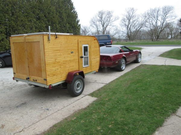 Waynes Awesome 1000 DIY Wooden Teardrop Trailer