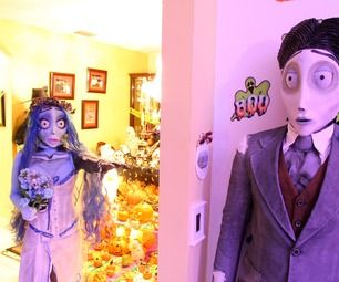 Tim Burton's Corpse Bride Halloween costumes