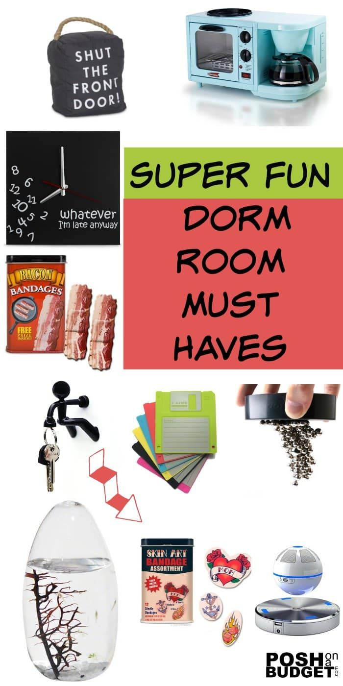 Super Fun Dorm Room Must Haves | Fun dorm, Parenting teens, Fun