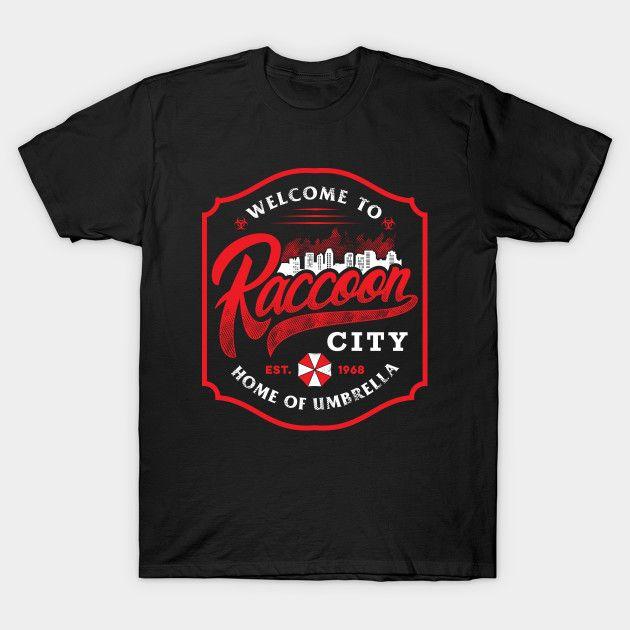 RACCOON CITY - Resident Evil T-Shirt - The Shirt L