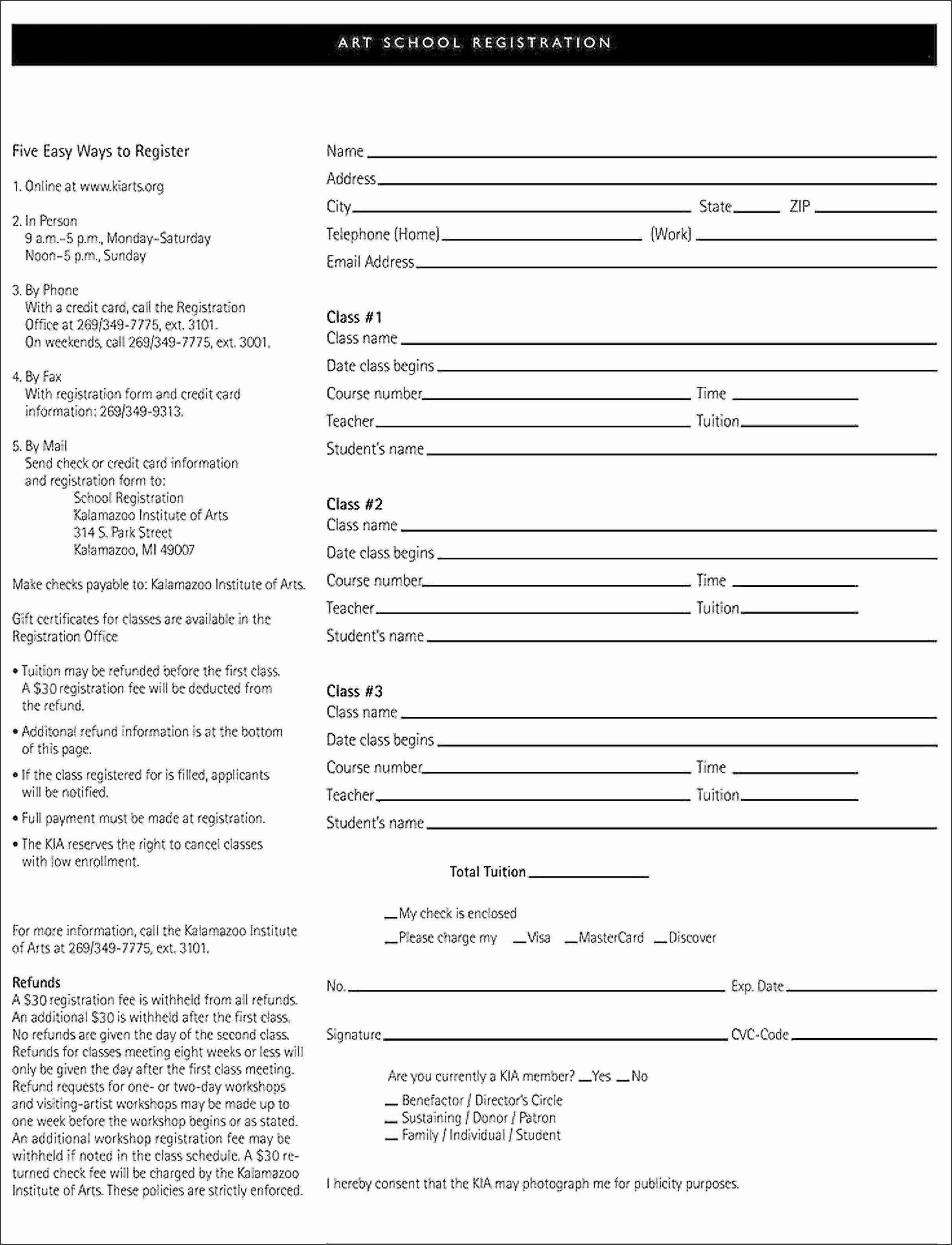 Conference Registration form Template Word Lovely 10