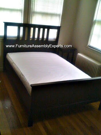 Ikea Hemnes Bed Frames Assembled At Mount Vernon Plaza Apartments