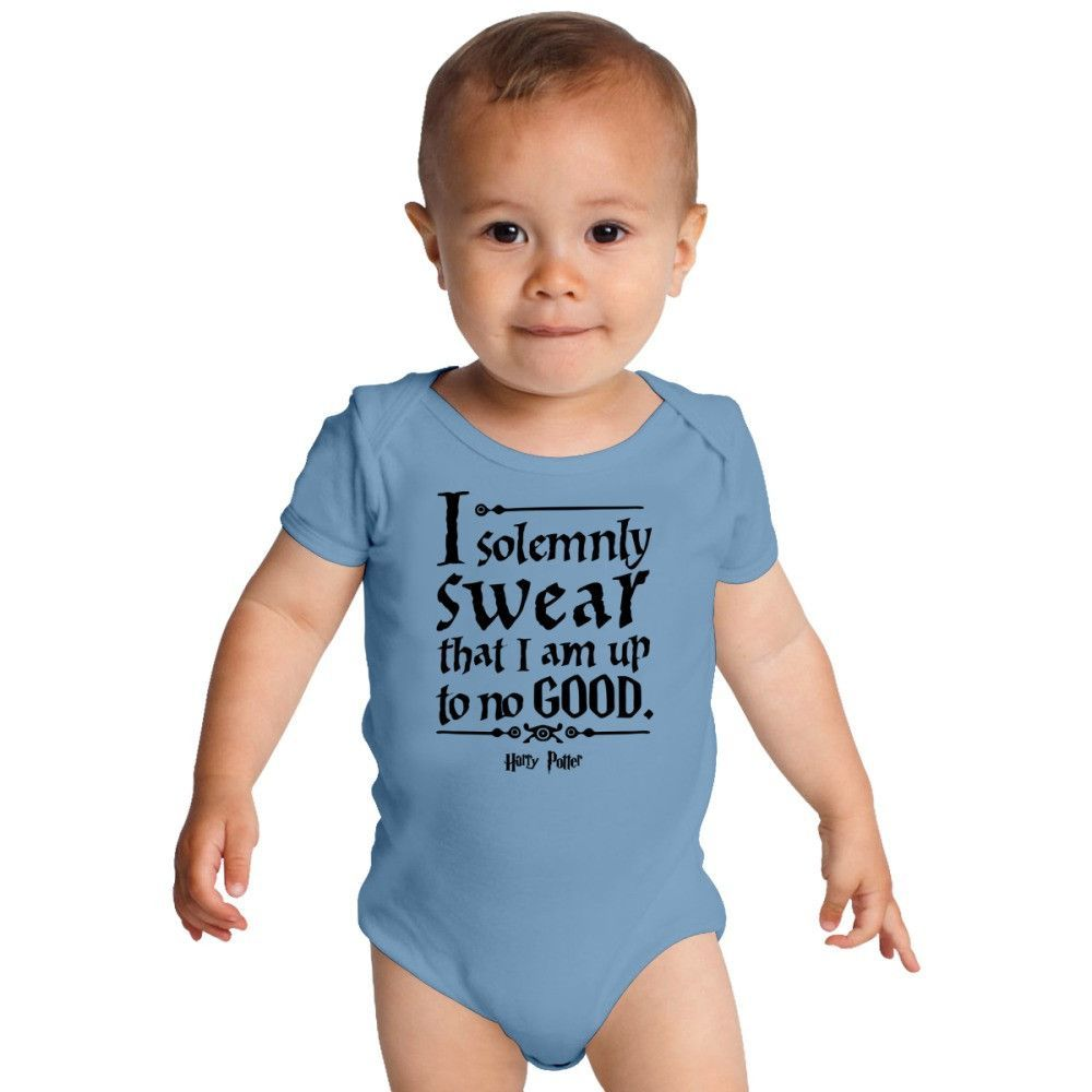 Harry Potter Up To No Good Quotes Baby Onesies