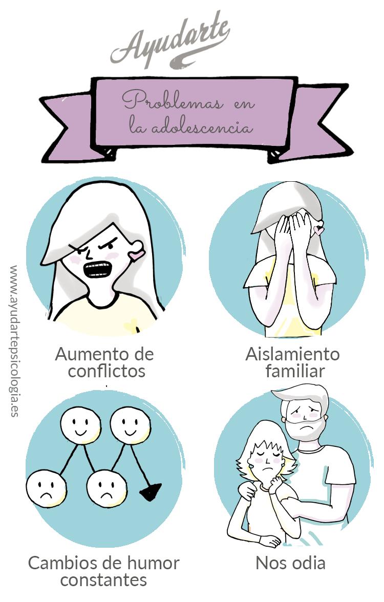 problemas adolescencia ayudarte estudio psicologia