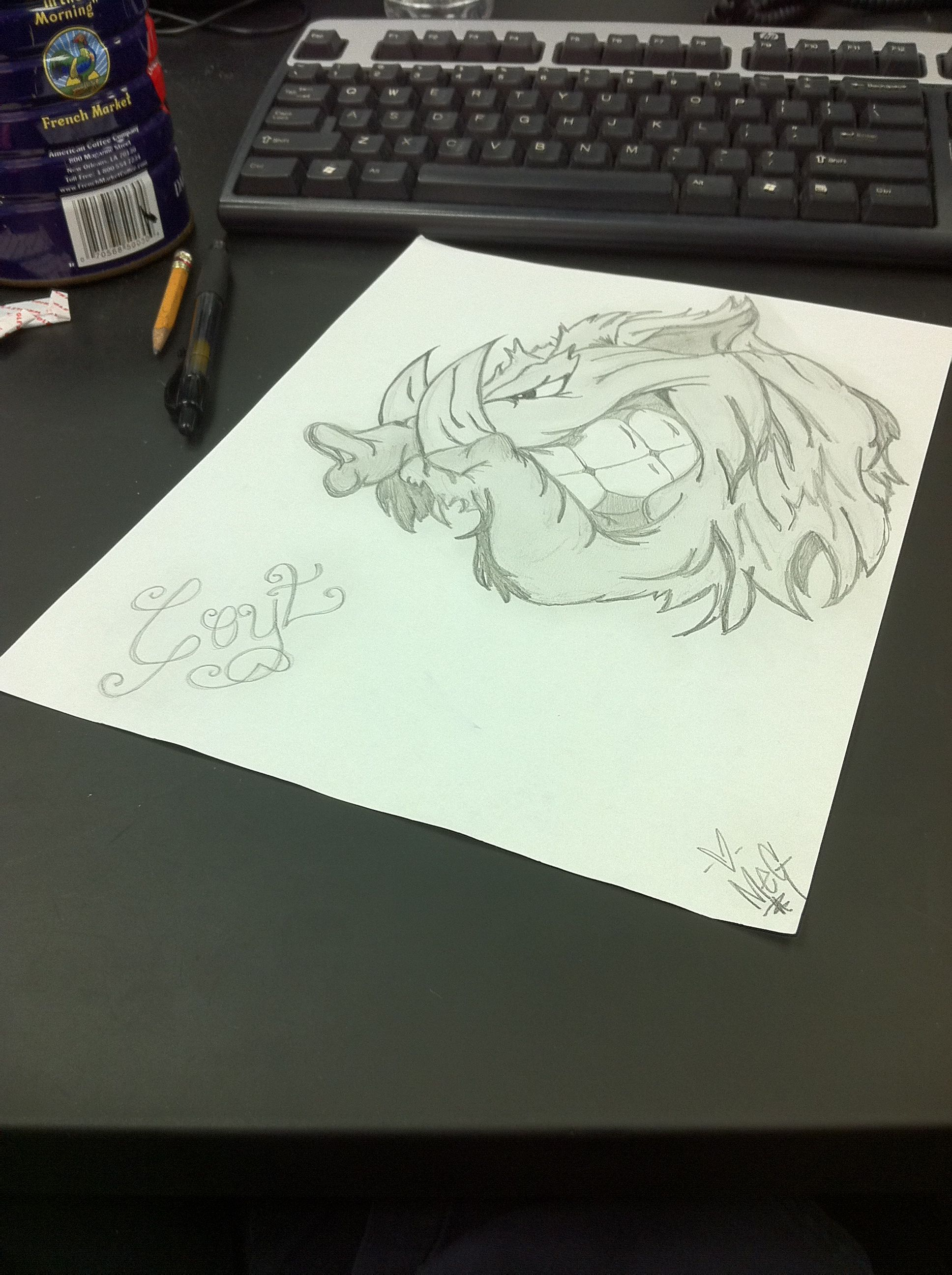 nightshift doodling