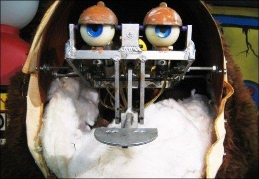Fredbear Endoskeleton by FredbearTheAnimatron on DeviantArt   Chuck E Cheese Animatronics Endoskeleton