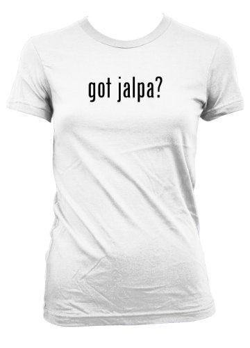 $13.99 got jalpa? L.A.T Misses Cut Womens T-Shirt White Large