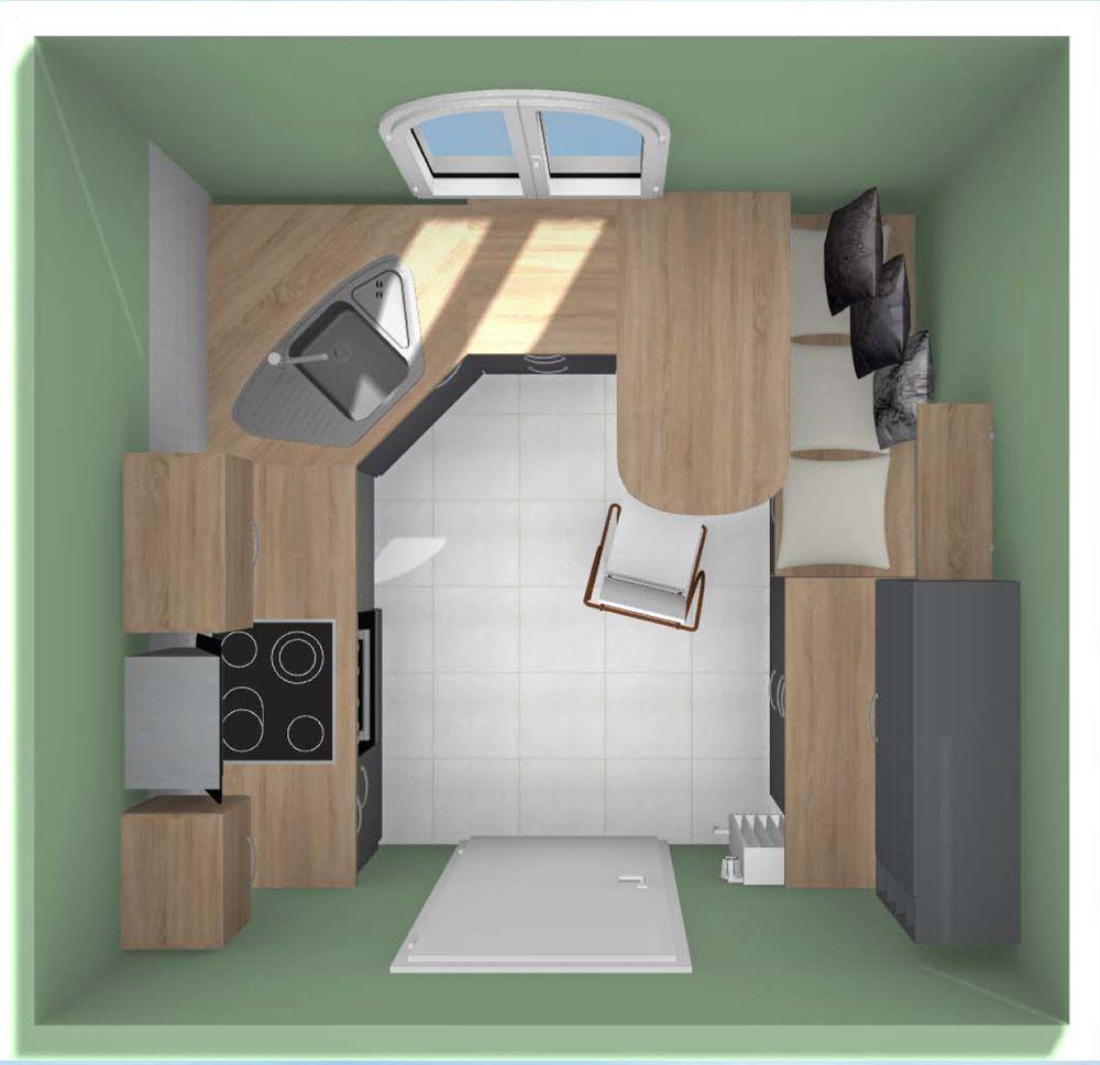 Küche planen Teil 4: alternative Küchenplanung in 3D aus der ...