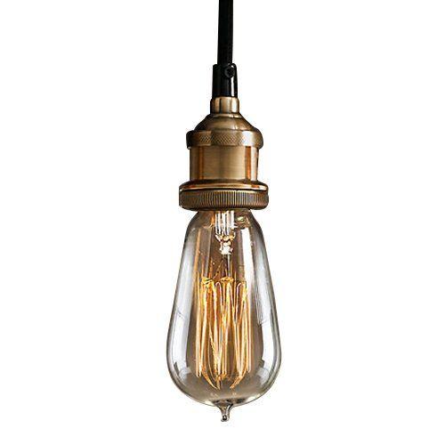 60W E26E27 Lmpara Bombilla Colgante Techo para Hogar Vintage Amazones Iluminacin 3959  Shopping list  Iluminacin  Pendant lamp