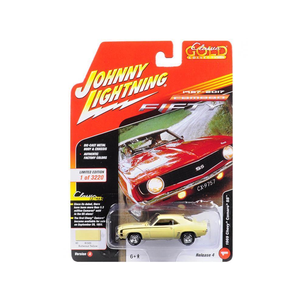 1969 Chevrolet Camaro SS Butternut Yellow 50th Anniversary Limited ...