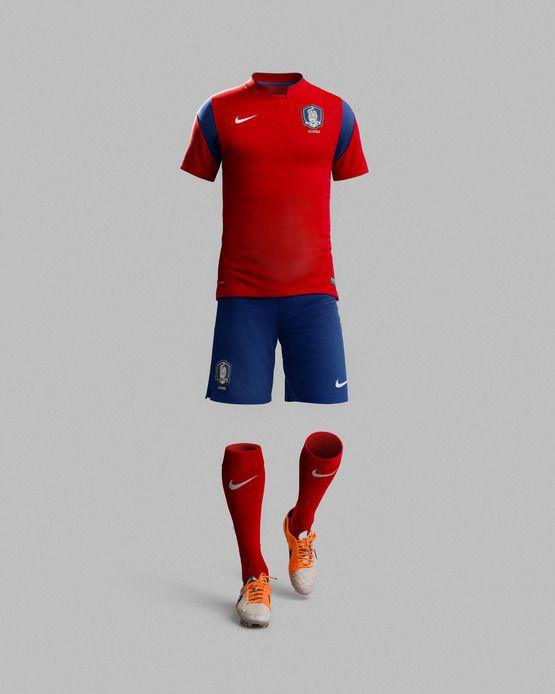 Nike Football Unveils 2014 Korea National Team Kit Sports Tshirt Designs Nike Football Soccer Uniforms