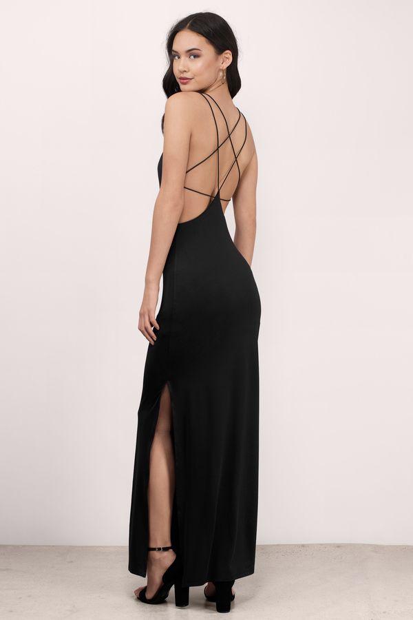 a9a31e587b6 New at Tobi. Timeless Strappy Back Maxi Dress. Timeless Wine Maxi Dress