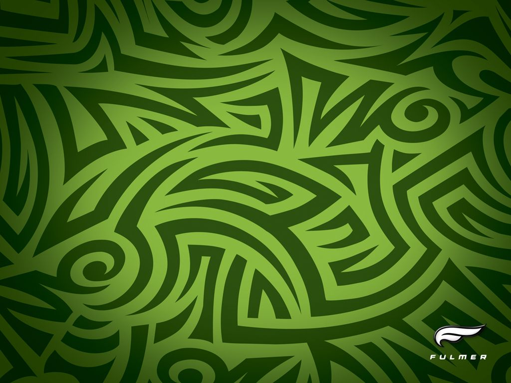 green tribal wallpapers - photo #3