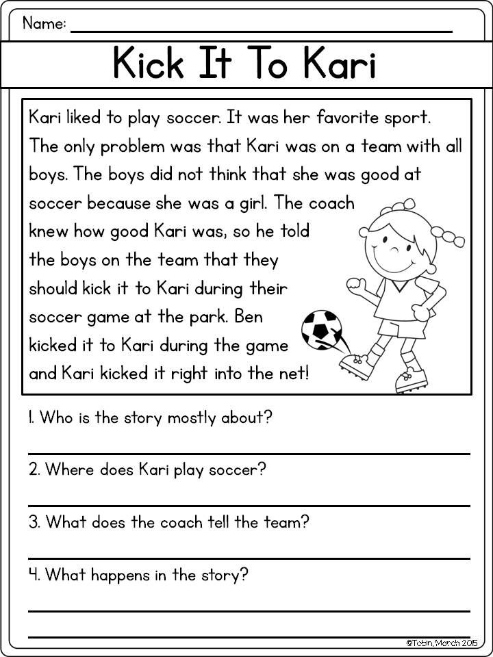 Ask And Answer Questions Rl1 1 First Grade Reading Comprehension Reading Comprehension Lessons Third Grade Reading Worksheets