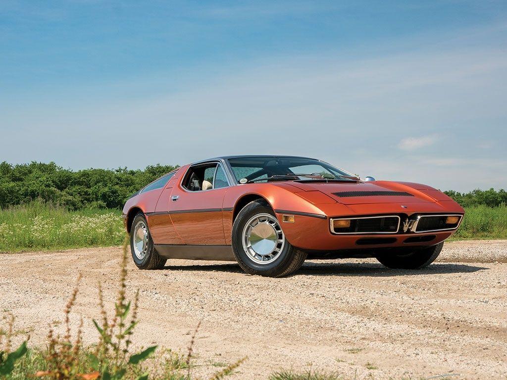 1974 Maserati Bora - Bora 4.9 | Classic Driver Market ...