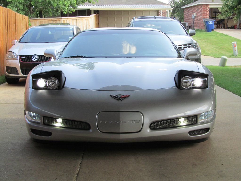 ***Radioflyer's March Madness Headlight Sale!*** - Corvette Forum All Bi-xenon ACA kits now include our newest generation of 70w ballasts with heavy-duty aluminum construction (not the cheap plastic or sheet metal types in most HID kits) We are also including our newest generation of Cree LED high beam bulbs which feature 16 Cree LEDs per bulb to complement your Bi-xenon projector when in high beam mode.