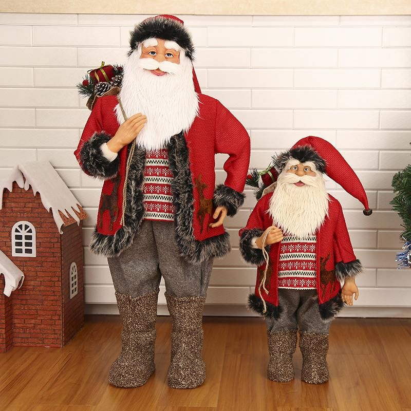you can check it out here httpbrixmenetproductschristmas santa claus ornaments large layout exquisite christmas decorationsutm_campaign - Christmas Decorations Large Santa Claus