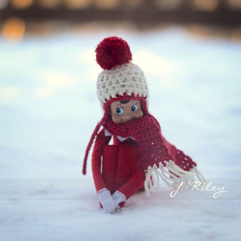 Elf On A Shelf Crochet Idea Photo Inspiration Only No