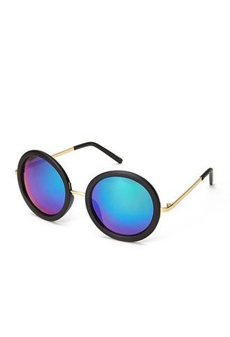 ba5df722ca3 F1308 Cool Girl Round Sunglasses