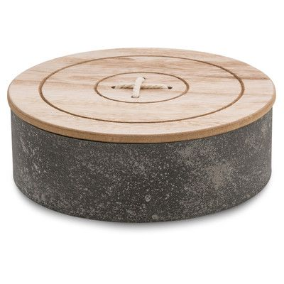 Round Decorative Boxes Glamorous Round Wooden Box With Lid  Home Decor  Pinterest  Rounding And Box Decorating Inspiration