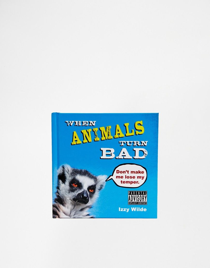 Book by Izzy Wilde Hardback book Collections of animal pictures in the wild Funny annotations Authored but Izzy Wilde 96 pages