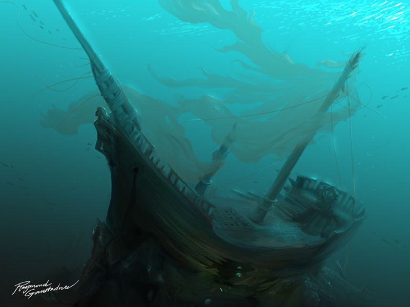 Wallpaper Ship Drowning Hd Creative Graphics 8497: She Would Cry..if She Could By Shockbolt On DeviantART