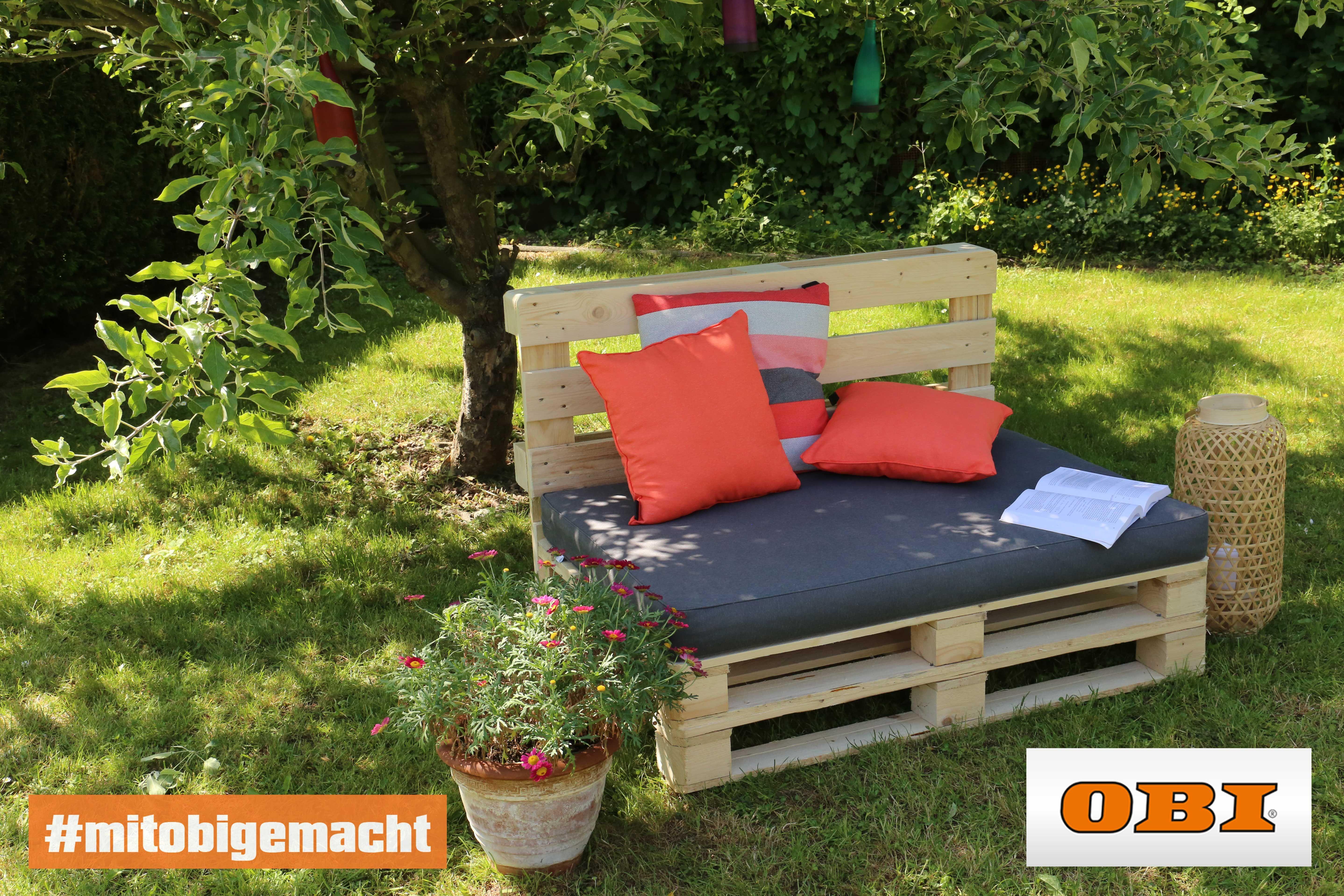 Palettensofa Selber Bauen Tipps Und Ratgeber Obi Paletten Couch Aussenmobel Palettencouch