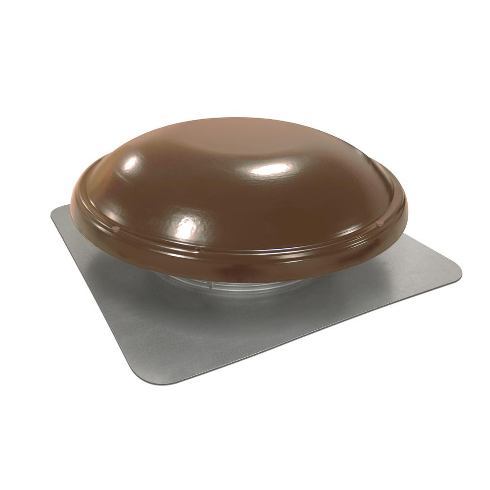 Master Flow 144 In Nfa Galvanized Steel Static Dome Roof Vent In Brown Brown Tan Attic Fan Roof Vents Fans For Sale