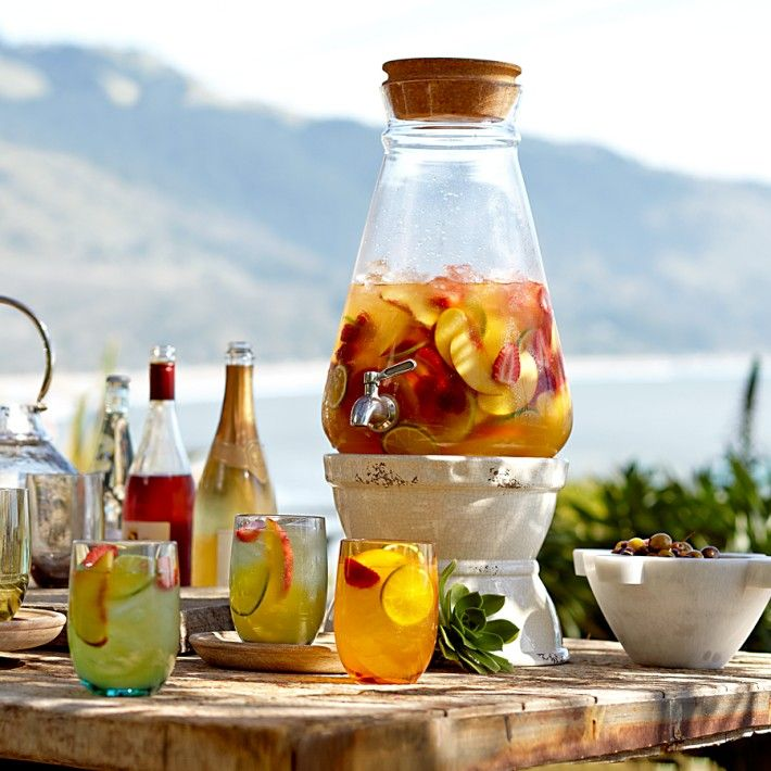 Williams Sonoma Sangria Cocktail Mixer Blanca