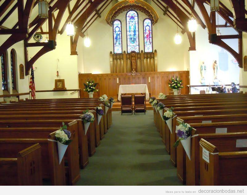 ideas para decorar iglesias y capillas para una boda o quinceaera