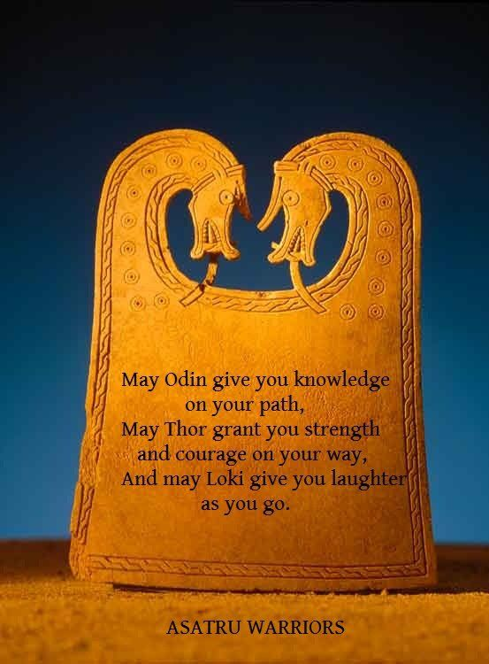 may odin give you knowledge on your path