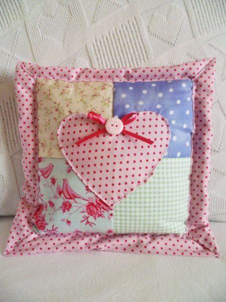 Applique Cushions Patchwork