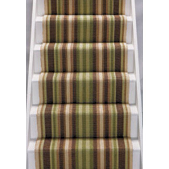 Best Green Striped Stair Carpet Sisal Stair Runner Carpet 400 x 300