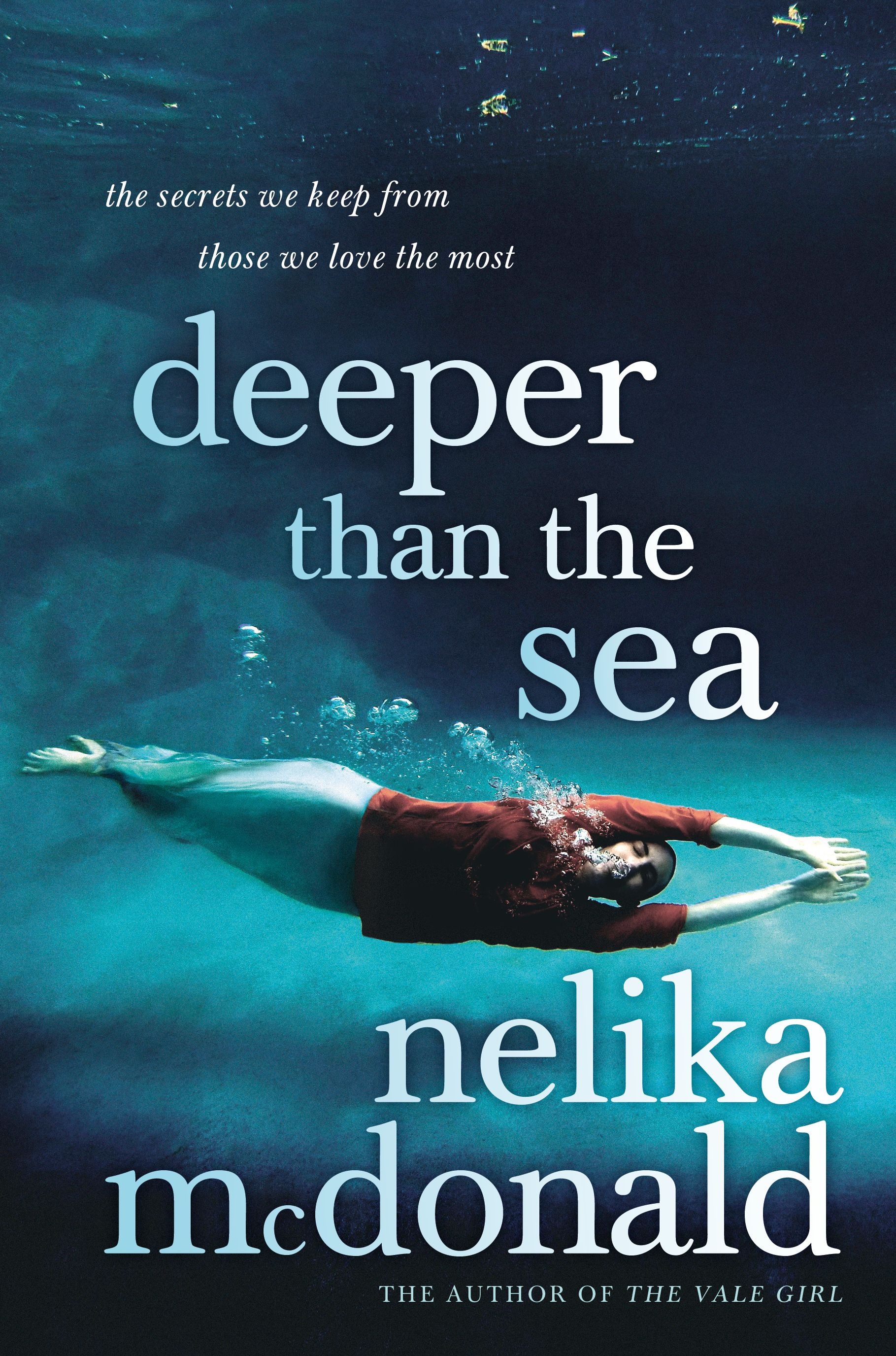 Deeper than the Sea by Nelika McDonald. Cover design by