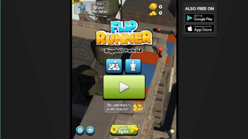 Flip Runner Crazy Games Free Online Games On Crazy Games Com Crazy Games Free Online Games Skill Games