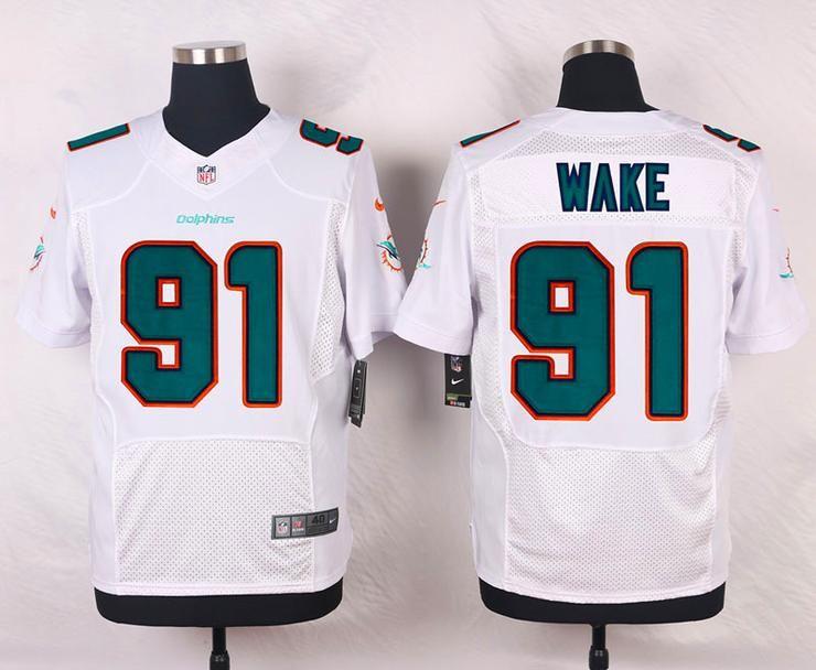 Men 91 Cameron Wake Jersey Football Miami Dolphins Jersey | Nfl ...