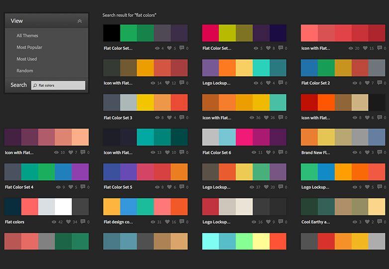 The Ultimate Guide To Flat Design Cvetovye Shemy Stil Dizajn