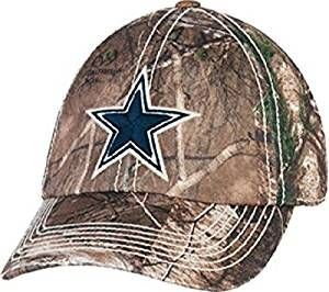 e8a13a54f  34.99 Dallas Cowboys Realtree Camouflage Hat Cap Adjustable Tree Camo One  Size