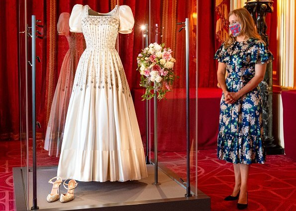Princess Beatrice visited the special display of her