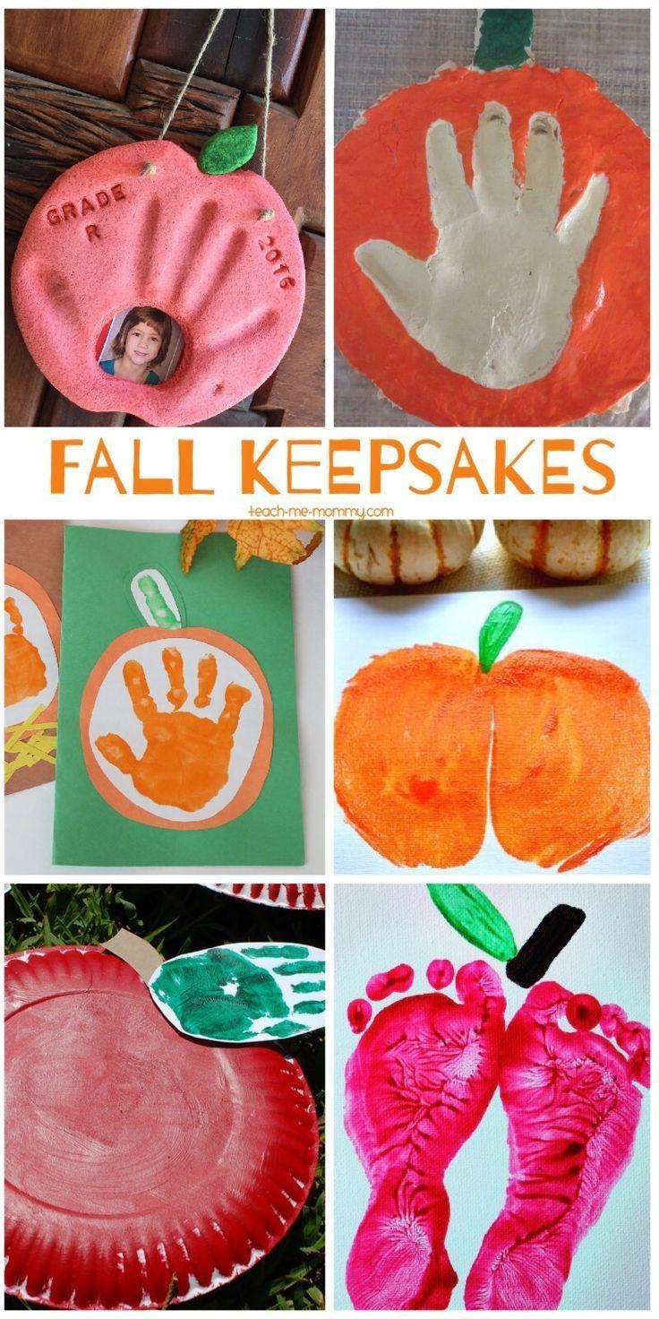 Delightful Harvest Craft Ideas For Kids Part - 8: Fabulous Fall Keepsakes. Preschool Fall CraftsFall Kid ...