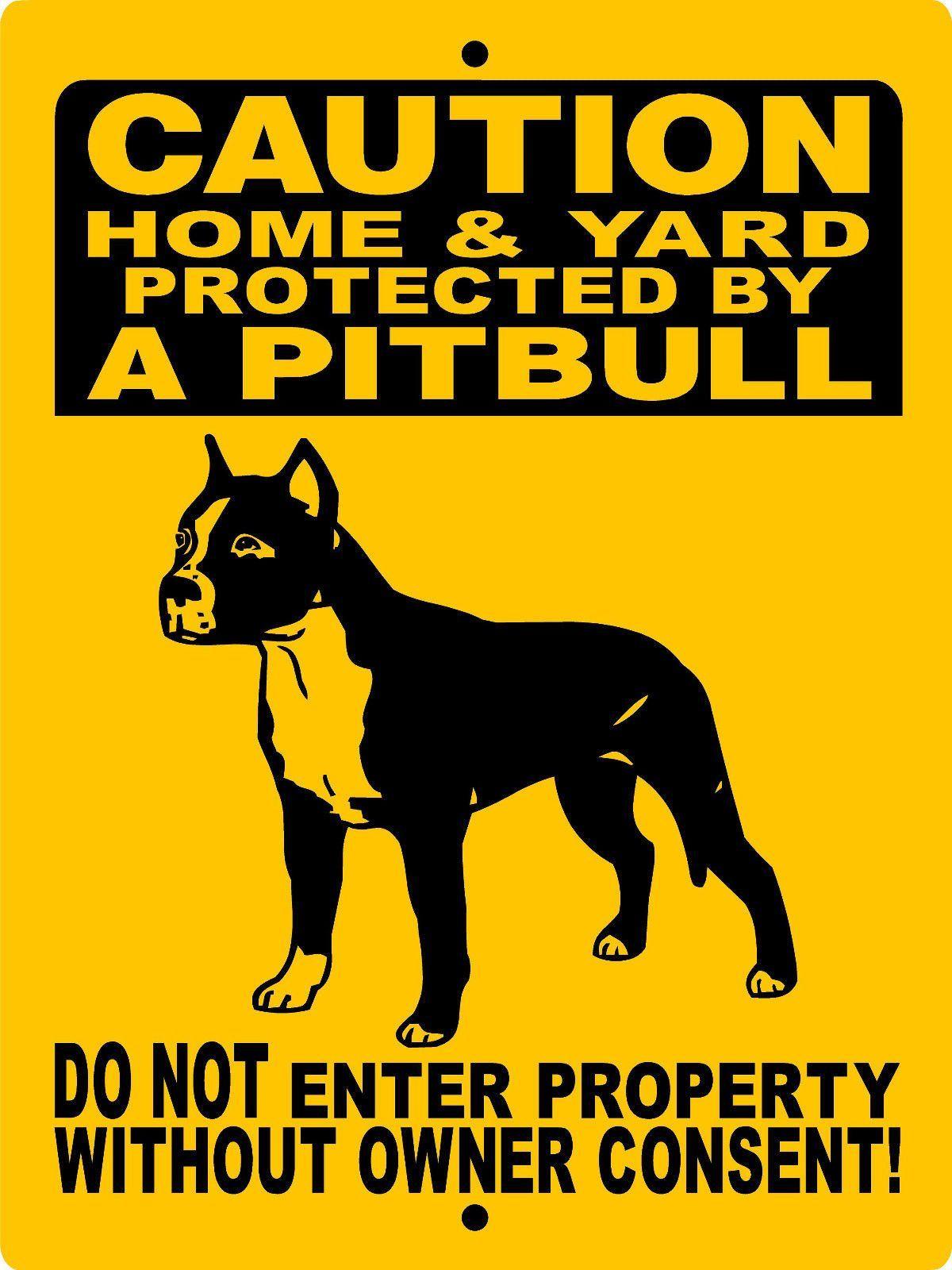 Pitbull, pit bull, aluminum dog signs h2496pbcrpe | Pinterest | Pit ...