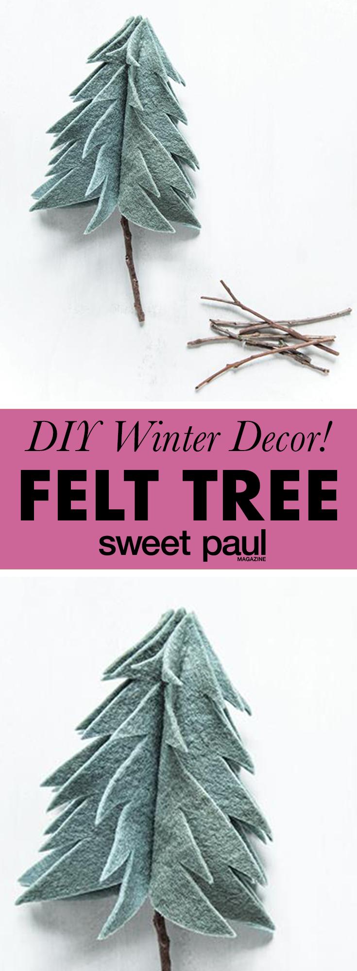 Felt Christmas Tree | Sweet Paul Magazine