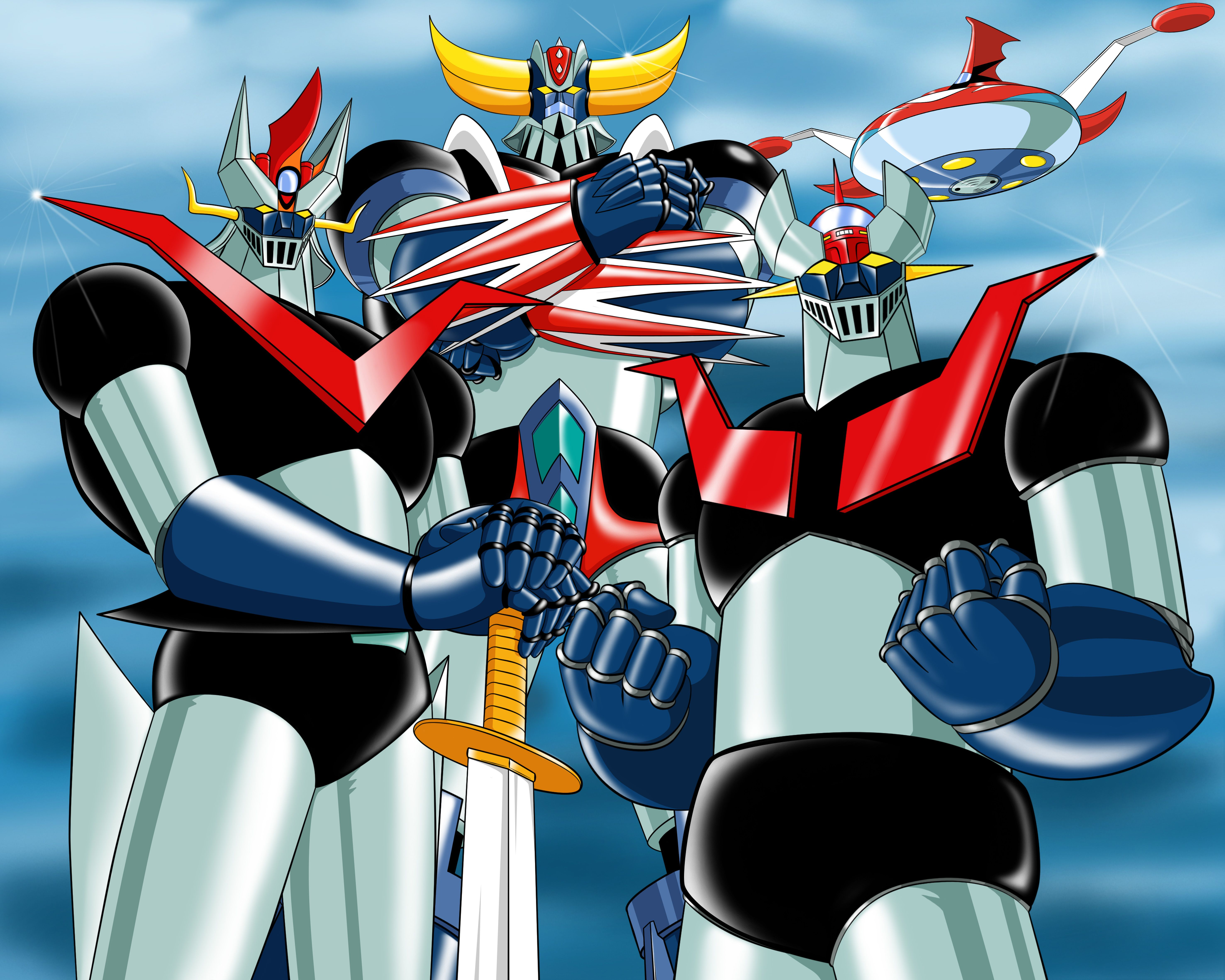 Mazinger great grendizer robots and mech