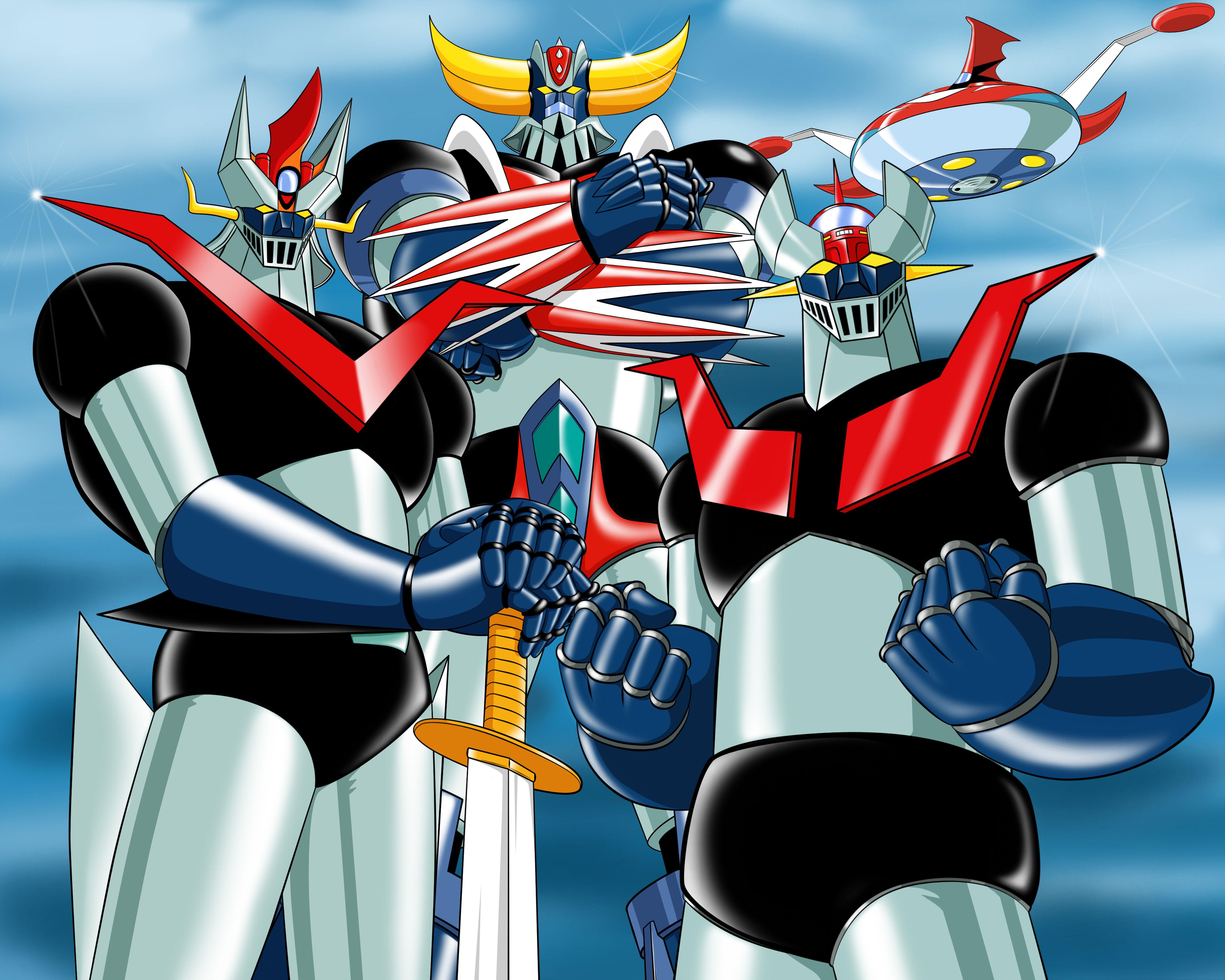 Mazinger great grendizer robots and mech