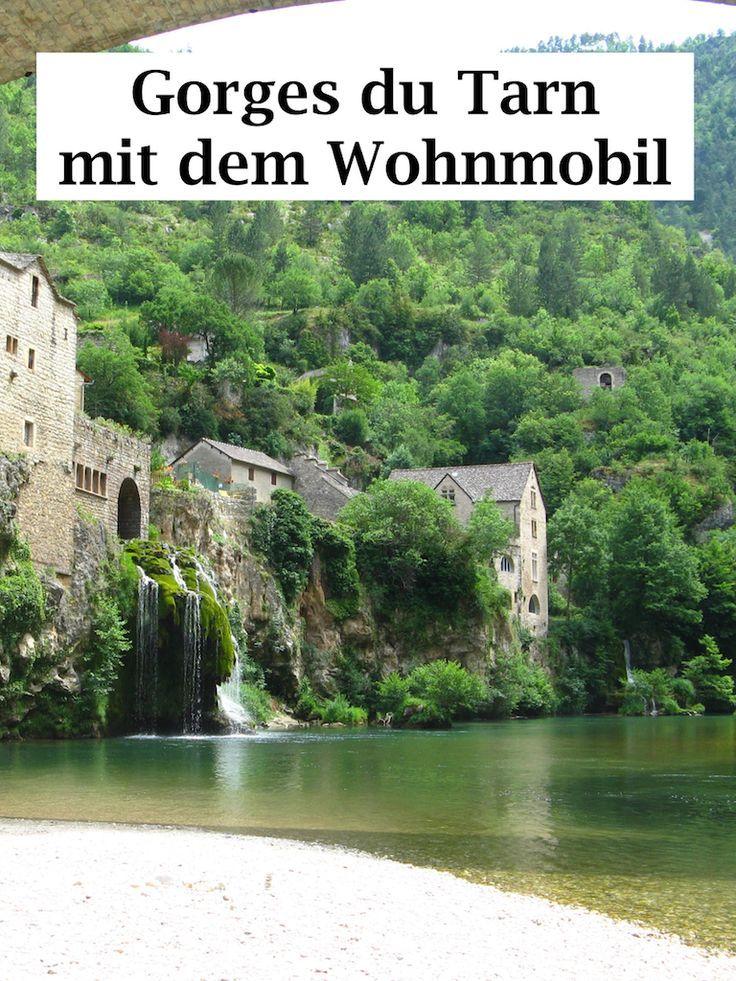 Photo of Gorges du Tarn holiday destination: motorhome, hiking