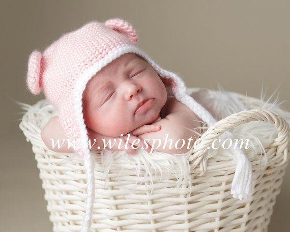 i hope i have a daughter so i can dress her and do her room in care bear stuff :)CAREBEAR  baby girl crochet hat in newborn size by ClassyColors, $16.00