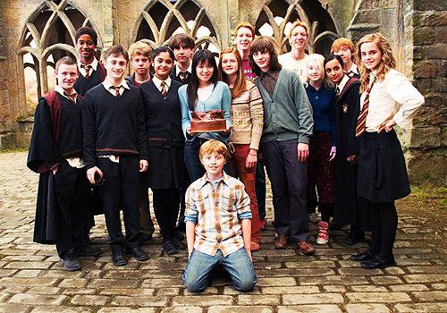 Dumbledore S Army Harry Potter Set Harry Potter Cast Harry Potter